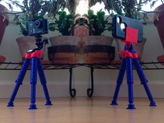 This tripod is easy to print, easy to assemble, and easy to use!