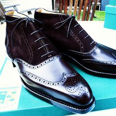 http://chicerman.com ascotshoes: I think its rather discreet with black calf and dark brown suede. I We are an online shoe shop based in the UK that specialise in hand made Vass Shoes. Please email Sammy for no obligation advice on Sizing Fitting Made To Order MTO Stock & Prices. All our Vass shoes are individually hand stitched with the upmost attention to detail and aesthetically finished to meet all client needs. Certain models are available immediately. I EMAIL- Ascotshoes@outlook.co...