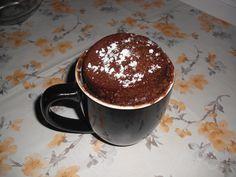 Snídaňový hrnek za 5 minut | NejRecept.cz Sponge Cake, Cake Batter, Sweet Tooth, Food And Drink, Low Carb, Pudding, Mugs, Baking, Breakfast