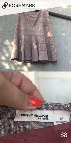 Skirt Brown dkny jeans skirt Dkny Skirts Midi