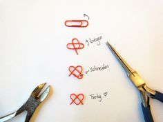 Make Christmas gifts yourself craft ideas for a happy holiday - DIY Gifts Diy Birthday, Birthday Gifts, Christmas Presents, Christmas Diy, Paper Clips Diy, Ideias Diy, Diy Home Crafts, Kids Crafts, Boyfriend Gifts