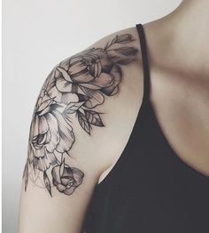 24 New ideas tattoo shoulder quote inspiration words Shoulder Cap Tattoo, Shoulder Tats, Butterfly Tattoo On Shoulder, Shoulder Tattoos For Women, Feather Tattoos, Foot Tattoos, Flower Tattoos, Body Art Tattoos, New Tattoos