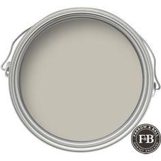 Farrow & Ball Eco No.5 Hardwick White - Exterior Eggshell Paint - 750ml at Homebase --front door Buy now.