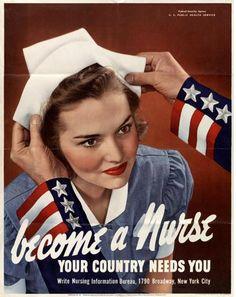 WW2 - Nurse - become a nurse by shore5man7, via Flickr