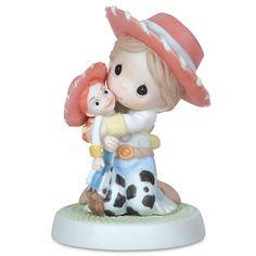 ''Yodel-Ay-Hee-Ho I Sure Like You'' Jessie Figurine by Precious Moments | Precious Moments | Disney Store