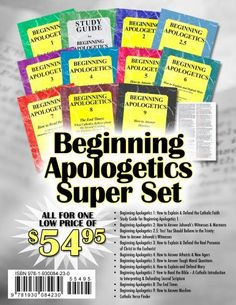 Beginning Apologetics Super Set, http://www.amazon.com/dp/1930084234/ref=cm_sw_r_pi_awdm_zgc8tb1HYCE44