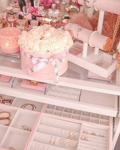 Rose Gold Aesthetic, Baby Pink Aesthetic, Pink Love, Pink And Gold, Animal Nail Designs, Red Bedroom Design, Fairytale Bedroom, Barbie Bedroom, Glam Room