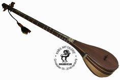 traditional Folk musical instrument Afghanistan Dotar Dutar dambure  دوتار