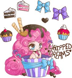 Whipped Dreams Commission by YamPuff.deviantart.com on @DeviantArt