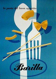Pasta Barilla - Erberto Carboni 1952