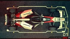 V12, 4WD Nathan Dearsley's vision F1 future car