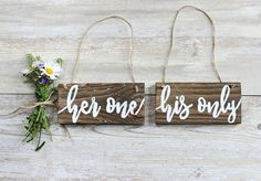 Rustic Wedding Decor, Rustic Wedding Photo Props, Engagement Photo Props, Wedding Chair Signs.