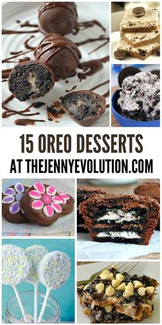 15 Mouthwatering Oreo Recipes! Dessert will never be the same :)