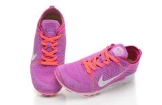 Nike Free 5.0 Flyknit V2 Womens Purple Orange White
