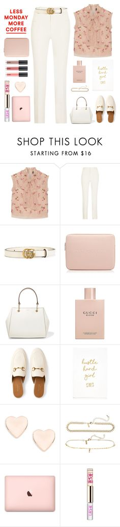 """""""Coffee Break"""" by shoelover220 ❤ liked on Polyvore featuring Roland Mouret, Gucci, Marc Jacobs, DKNY, Skinnydip, Ted Baker, Topshop, Juicy Couture and coffeebreak"""