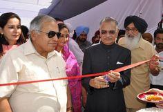 Punjab Gov. Mr Shivraj V Patil inaugurates Mega Health Camp