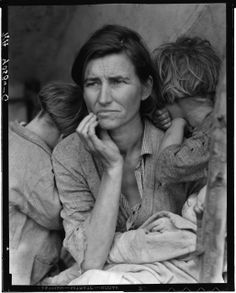 Dorothea Lange Migrant Mother Nipomo, California 1936