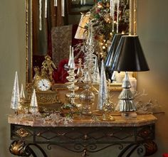 41 Inspiring Christmas Accessories Ideas To Decorate Your Home - How To Make Christmas Tree, Merry Christmas, Vintage Christmas, Christmas Holidays, Christmas Mantles, Winter Holiday, Christmas Stuff, Holiday Ideas, Victorian Christmas Decorations