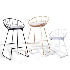 New design steel frame metal legs modern high kitchen bar chair commercial bar stool - China Office Chairs & Fiberglass Leisure Seating Manufacturer in Alibaba