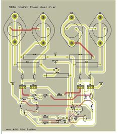 500 Watt Mosfet Power Amplifier