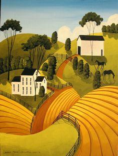 Debbie Criswell ~ Primitive saltbox houses