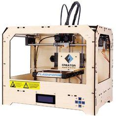 FlashForge Creator 3D Printer (Wood Case) FlashForge http://www.amazon.com/dp/B008CM2TCU/ref=cm_sw_r_pi_dp_wUx9tb0WY4HX0