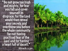 Sirach 1:30