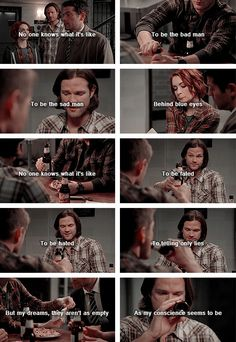 [gifset] This song was so perfect! Sam, Dean, Cas and Charlie