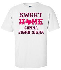 Gamma Sigma Sigma Sweet Home Tee
