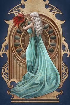 Mother of Dragons by brandiyorkart.deviantart.com on @DeviantArt