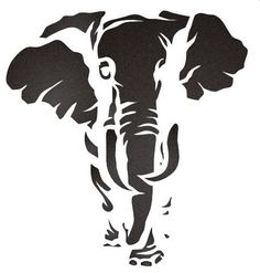 free jungle animal stencils - Google Search More