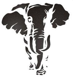 free jungle animal stencils - Google Search                                                                                                                                                      More
