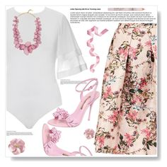 Bodysuits by ucetmal-1 on Polyvore featuring polyvore fashion style Ted Baker Sophia Webster BaubleBar clothing
