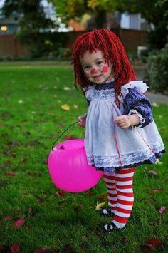 Hermoso disfraz para este Halloween
