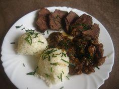 Fotorecept: Diviak na lesnícky spôsob Beef, Food, Meat, Eten, Ox, Ground Beef, Meals, Steak, Diet