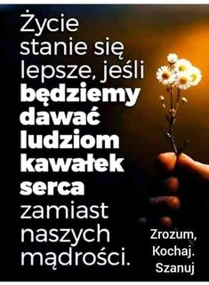 Kultura, Powerful Words, Personal Trainer, Motivation, Inspiration, Polish Sayings, Biblical Inspiration, Strong Words, Daily Motivation