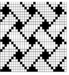 손뜨개~도안및자료실 | BAND Tapestry Crochet Patterns, Crochet Stitches Patterns, Crochet Chart, Crochet Patterns Amigurumi, Filet Crochet, Beading Patterns, Knitting Patterns, Knitting Charts, Knitting Stitches