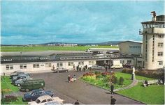 Aer Lingus Irish Airlines 707 at Shannon Ireland airport cont/l postcard Family Genealogy, Worlds Largest, Statue Of Liberty, 1950s, Ireland, Airports, Explore, Mansions, History