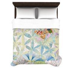 """Catherine Holcombe """"Miraculous Recovery"""" Butterfly Duvet Cover #butterfly #sweet #decor #soft"""