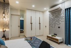 New apartment design men living rooms Ideas Indian Bedroom Design, Bedroom Wall Designs, Wardrobe Design Bedroom, Modern Bedroom Design, Room Interior Design, Apartment Interior, Apartment Design, Bed Design, Living Room Designs