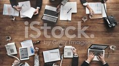 Business People Meeting Growth Success Target Economic Concept royalty-free stock photo
