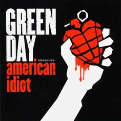 Caratula Frontal de Green Day - American Idiot