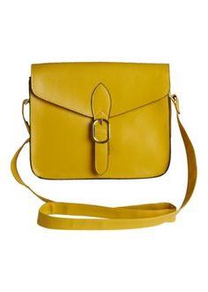 Classic Satchel In Yellow