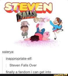 My kind of show Steven Universe Gravity Falls Over the Garden Walls GardenWall # Funny Cartoons, Funny Memes, Hilarious, Funny Comics, Fandom Crossover, Gravity Falls Crossover, Gravity Falls Funny, Gravity Falls Comics, Steven Universe Memes