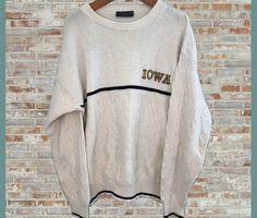 Vintage Iowa Hawkeyes Crewneck Sweater Medium/Large