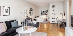 Small studio apartment