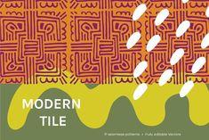 Modern Tile | Seamless Patterns - Patterns