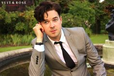 Michael Lieber in Suit&Rose photo shoot #michaellieber #suitandrose #actor