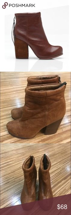 ⚡️ Flash SALE Jeffrey Campbell Rumble Booties Jeffrey Campbell Rumble Booties in a soft brown cognac color, size 7. Gently preloved. Jeffrey Campbell Shoes Ankle Boots & Booties