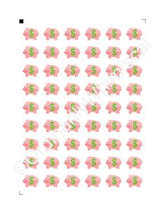 Payday Stickers for Erin Condren Life by OrdinarilyWhimsical